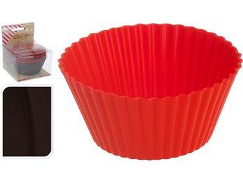 купить Формы для выпечки кексов 8шт, D7cmт, силикон,в коробке в Кишинёве