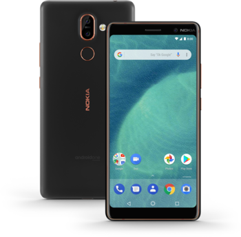 купить Nokia 7 Plus 4/64Gb Duos, Black в Кишинёве