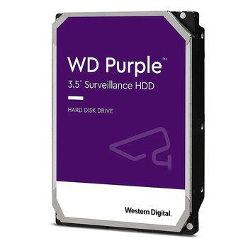 """Hard Disk 3.5"""" HDD 6TB Western Digital Purple (Surveillance HDD) WD62PURX, 5400 rpm, SATA3 6GB/s, 64MB (hard disk intern HDD/внутрений жесткий диск HDD)"""