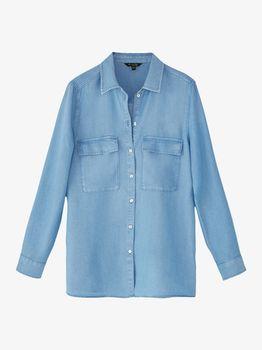 Блуза Massimo Dutti Джинса 5175/590/403