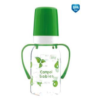 купить Canpol бутылочка пластиковая с ручкой, 120мл в Кишинёве