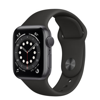 Apple Watch 6 40mm (MG133), Space Gray / Black