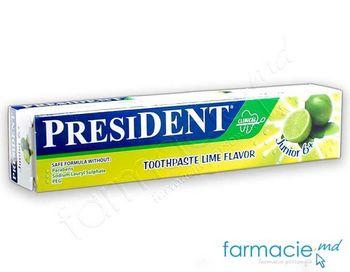 купить Зубная паста для детей President Лимон (от 6 лет), 50 мл в Кишинёве