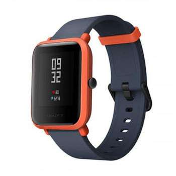 "Xiaomi ""Amazfit Bip"" Cinnabar Red, 1.28"" Touch Display, Heart Rate, Steps, Calories, Sleeping Quality Tracking, Smart Alarm, Distance Display, Average Daily Steps, Time, Weather, Accept incoming calls, Notifications, Operating time 30days, IP68"