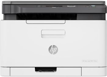 All-in-One Printer HP Color LaserJet Pro 178nw, White, A4, Up to 18 ppm, 256MB RAM, 600x600 dpi, Up to 20000 p., Two-line LCD display, PCL 5c/6, Postscript 3, USB 2.0, Gigabit Ethernet, ePrint, AirPrint Wi-Fi® Direct, Mopria™(HP 117A B/C/Y/M)