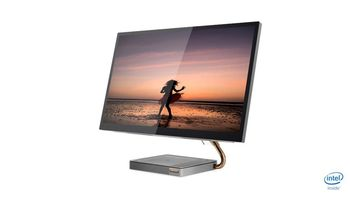 "купить Lenovo AIO IdeaCentre A540-27ICB Grey (27"" QHD IPS Core i3-9100T 3.1-3.7GHz, 8GB,128GB+1TB, W10H) в Кишинёве"