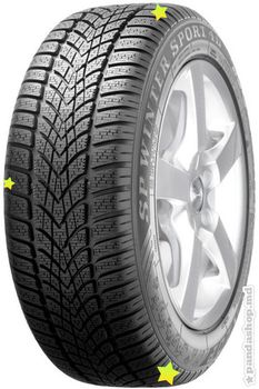 Dunlop SP Winter Sport 4D H 205/55 R16