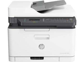 All-in-One Printer HP Color LaserJet Pro 179fnw, White, A4, Up to 18 ppm, 128MB RAM, 600x600 dpi, Up to 20000 p., Two-line LCD display, PCL 5c/6, Postscript 3, USB 2.0, Gigabit Ethernet, ePrint, AirPrint Wi-Fi® Direct, Mopria™(HP 117A B/C/Y/M)