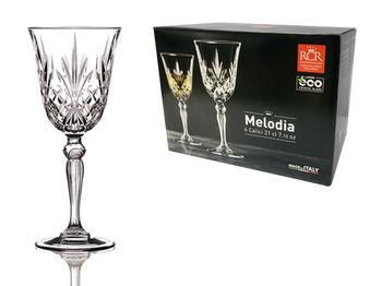 Набор бокалов для вина Melodia 6шт, 210ml