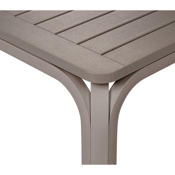 Стол раздвижной Nardi ALLORO 210 EXTENSIBLE TORTORA vern. Tortora 42859.10.000 (Стол раздвижной для сада и террасы)