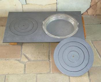Сковорода чугунная (диаметр 330 мм)