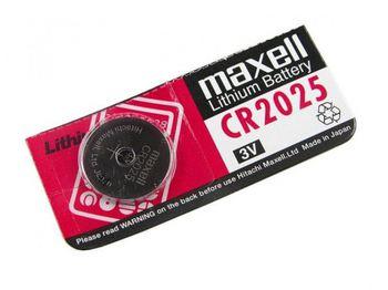 купить MAXELL Coin Battery CR2025 CARD, 1pcs в Кишинёве