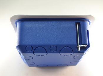 купить Коробка распределит.для монтажа электропров. гипсокарт.GSC 100 х 100 x 45 mm (130567) в Кишинёве