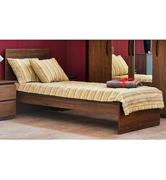 Кровать Linia Kids 800 орех каменный