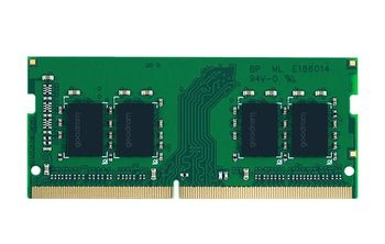 16GB DDR4-2400 SODIMM  GOODRAM, PC19200, CL17, 1024x8, 1.2V
