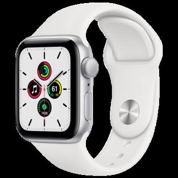 Apple Watch SE 40mm (MYDM2), Silver / White