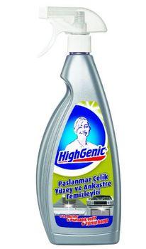 купить Средство для чистки нержавеющей стали Paslanmaz Celik HighGenic 750 мл в Кишинёве