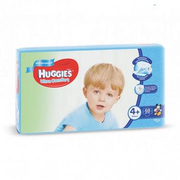 купить Подгузники для мальчиков Huggies Ultra Comfort 4+  (10-16 кг), 68 шт. в Кишинёве