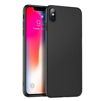 купить Hoco Case TPU fascination series for Iphone XS Max, Black в Кишинёве