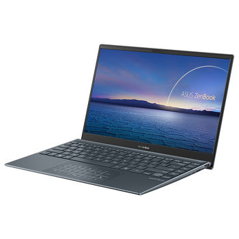 "Laptop 13.3"" ASUS ZenBook 13 UX325EA Pine Grey, Intel i7-1165G7 2.8-4.7Ghz/16GB/SSD 512GB M.2 NVMe/Intel Iris Xe Graphics/WiFi 6 802.11ax/BT5.0/HDMI/HD WebCam/Illum. Keyb./Number Pad/13.3"" IPS LED Backlit FullHD NanoEdge (1920x1080)/Endless OS UX325EA-EG124"