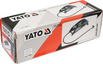 купить Ножной насос с манометром YATO в Кишинёве