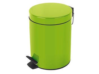 Ведро для мусора с педалью 3l Sydney зеленое, нерж