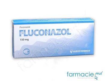 купить Fluconazol 150mg caps. N3 (Eurofarmaco) в Кишинёве