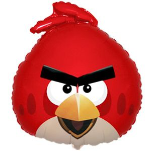 """купить Фольгированные шары """"Angry Birds"""" Поштучно в Кишинёве"""