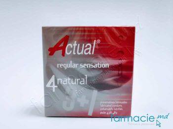 купить Prezervative Actual N4 Natural(TVA8%) в Кишинёве