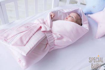 купить Одеялко-конверт на выписку Special baby (90x90 см) Roz в Кишинёве