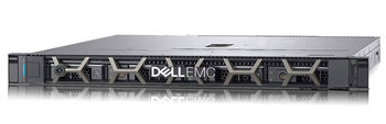 "Dell PowerEdge R340 1U Rack, Intel Xeon E-2146G (3.5GHz,  12M Cache, 6C/12T, 80W), 48GB (3*16GB) UDIMM DDR4 RAM, 2*480GB SATA Mix Use SSD (up to 4 3,5"" Hot Plug) PERC H330, iDRAC9 Basic, LAN DP 1GBE, TPM 1.2, Single Hot Plug 350W PSU"