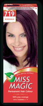 Краска для волос,SOLVEX Miss Magic, 90 мл., 719 - Бордо