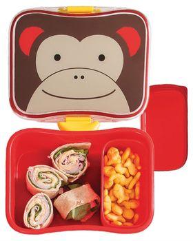 купить Пластиковый контейнер для бутербродов Skip Hop Zoo Обезьянка в Кишинёве