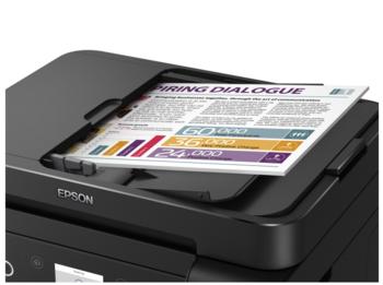 cumpără Epson L6170, ADF Copier/Printer/Scanner, A4, Ethernet, ADF, Wi-Fi / Wi-Fi Direct, iPrint, 33/15 pg/min, CiSS, print: 5760x1440, scan: 1200x2400, USB2.0 în Chișinău