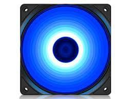 Корпус вентилятора Deepcool RF120B, 120x120x25 мм, 21,9 дБ, 48,9 куб. Футов в минуту, 1300 об / мин, синий светодиод, гидроподшипник