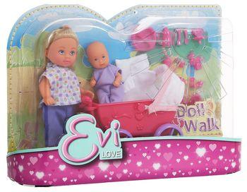 купить Simba Кукла Эви с малышом,12 см в Кишинёве