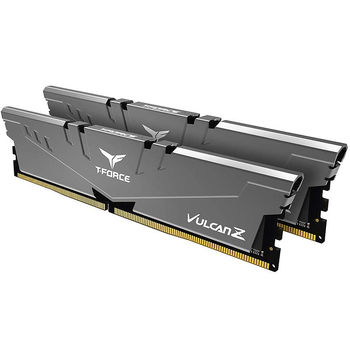 Оперативная память 16GB DDR4 Dual-Channel Kit Team Group T-Force Vulcan Z TLZGD416G3200HC16CDC01 16GB (2x8GB) DDR4 PC4-25600 3200MHz CL16, Retail (memorie/память)