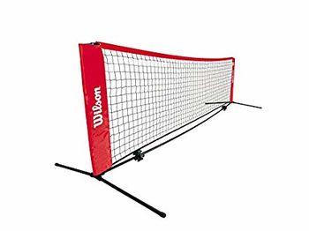 Сетка для большого тенниса с телескопическими палками 6.1 м WRZ259700 Wilson (2564)