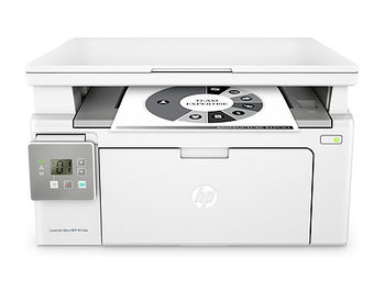 HP LaserJet Pro MFP M130a Mono Printer/Copier/Color Scanner, A4, Up to 600 x 600 dpi, HP FastRes 1200 (1200 dpi quality), 22 ppm, 128Mb, USB 2.0, Cartridge CF217A HP 17A(1600 pages), Starter cartridge 700 pages