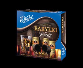 Шоколад Wedel Barrels Whisky, 200г