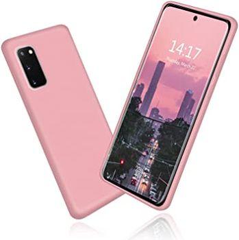 купить Чехол ТПУ Helmet Liquid Samsung Galaxy S20(G980), Pink в Кишинёве