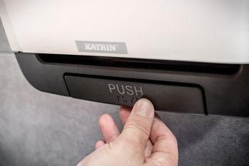 System White - Диспенсер автоматический для рулонных бумажных полотенец