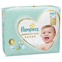 купить Подгузники Pampers Premium Care 6 (13+ kg) 38 шт в Кишинёве