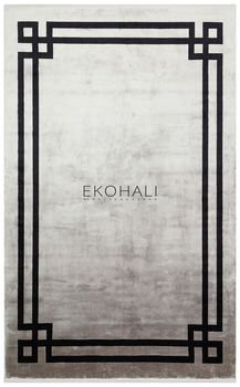 Ковёр EKOHALI Baroque BR 01 Grey Black