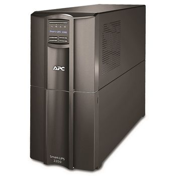 APC Smart-UPS SMT2200I 2200 VA/1980 Watts, LCD, Interface Port SmartSlot, USB, 230V, battery RBC55