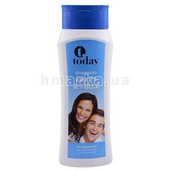 """Șampon astăzi """"Forță și fermecare"""" pentru păr normal, 500 ml"""