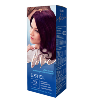Краска для волос, ESTEL Love, 100 мл., 5/6 - Божоле
