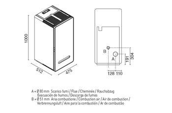 Печь пеллетная - ZAIRA 13 кВт