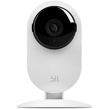 XIAOMI YI Home Camera 1080P EU,  White, IP Camera, WiFi, Video resolution: 1080p, 112° wide-angle lens, Built-in Microphone and Speaker (2-way audio connection), Infrared Night Vision Sensor, Baby crying, MicroSD up to 64GB, Andoid/iOS
