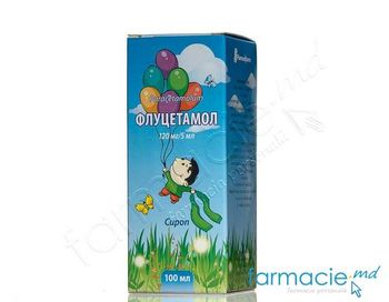купить Flucetamol sirop 120 mg/5 ml 100 ml N1 в Кишинёве